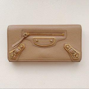 Balenciaga rose wallet